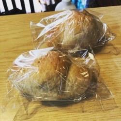 手作りパンいただきました